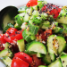 salade met chili seed snack